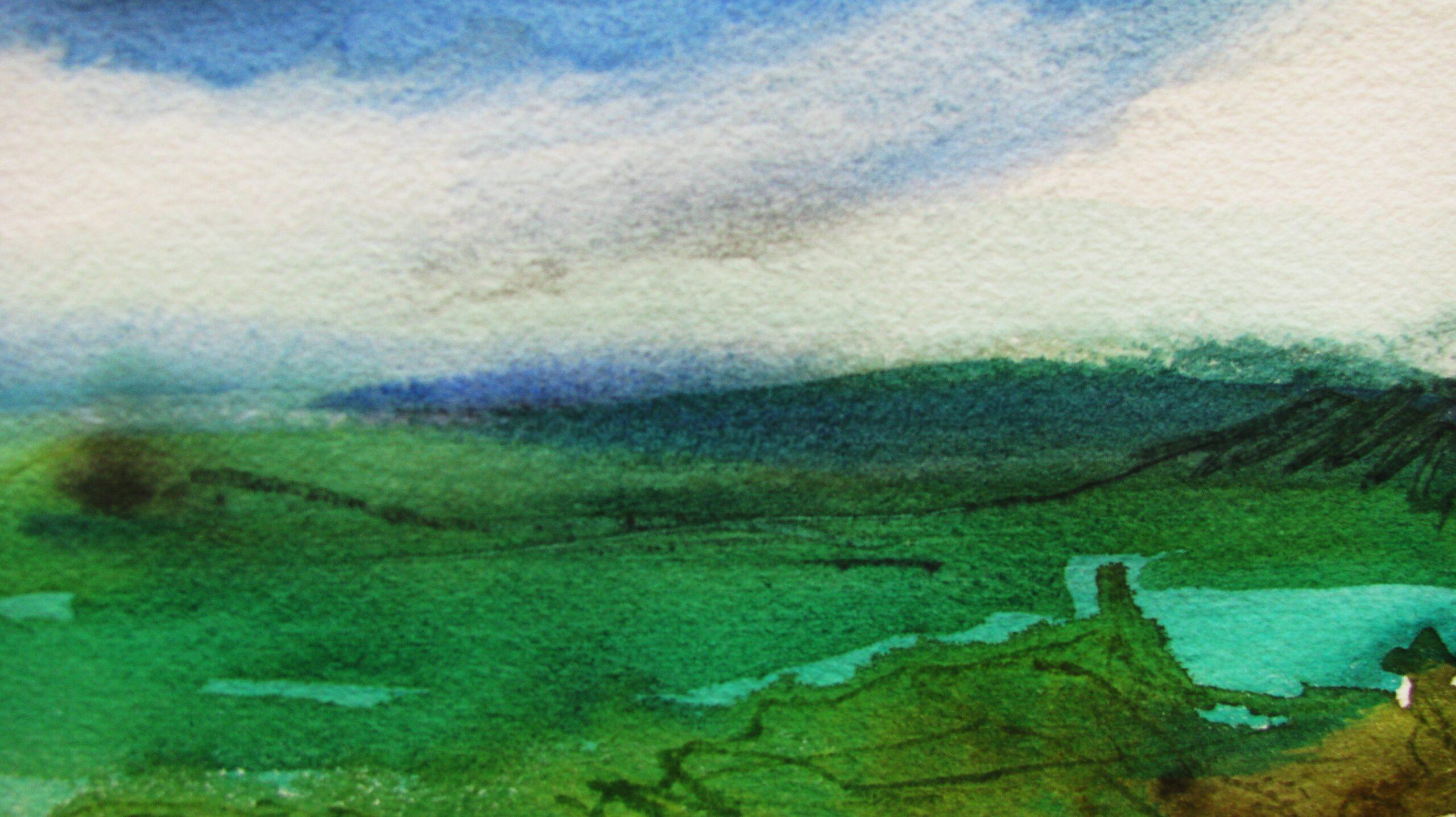 Aquarell, 20 x 18 cm (Ausschnitt)