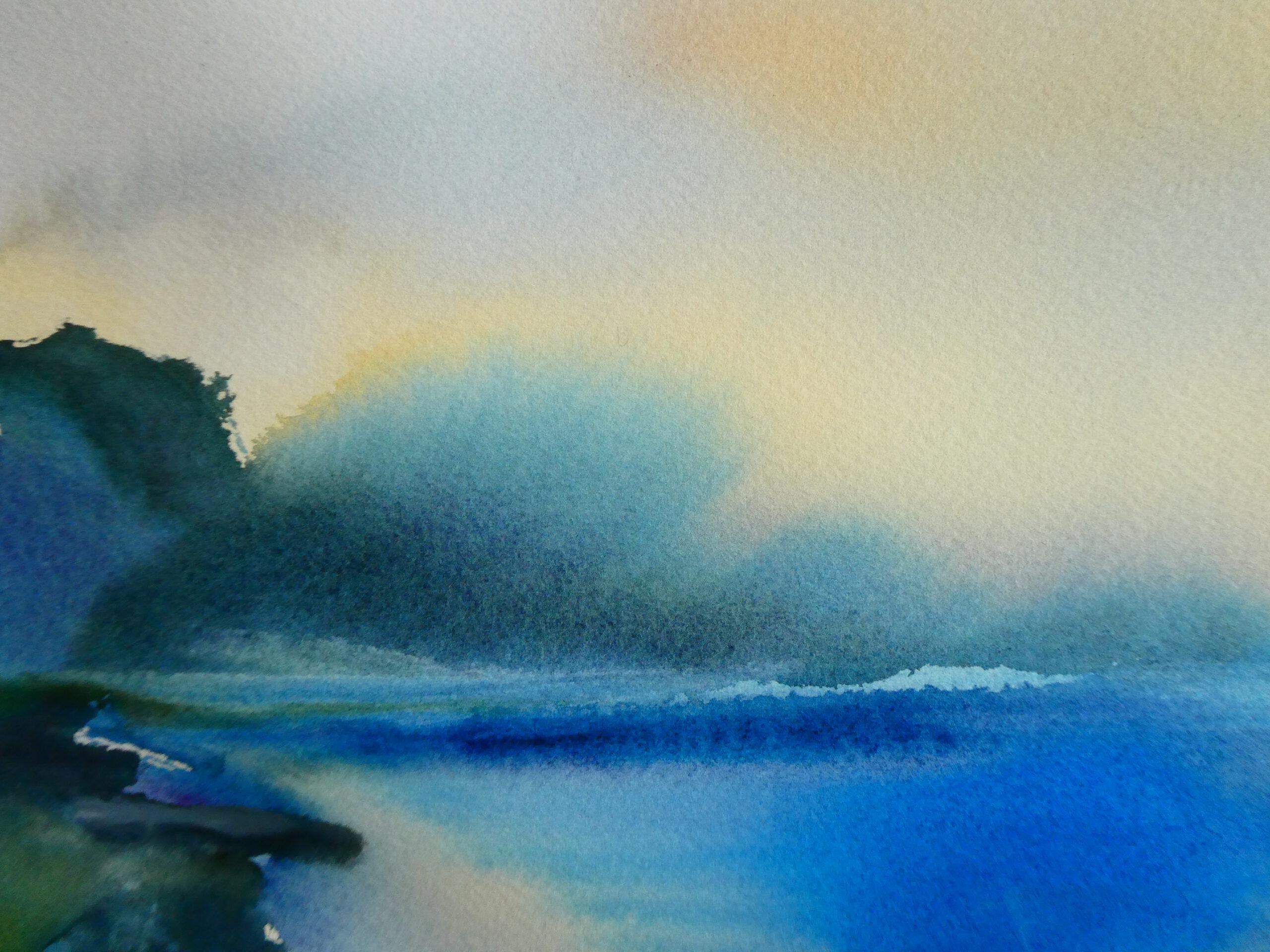 Aquarell, 80 x 60 cm (Ausschnitt)