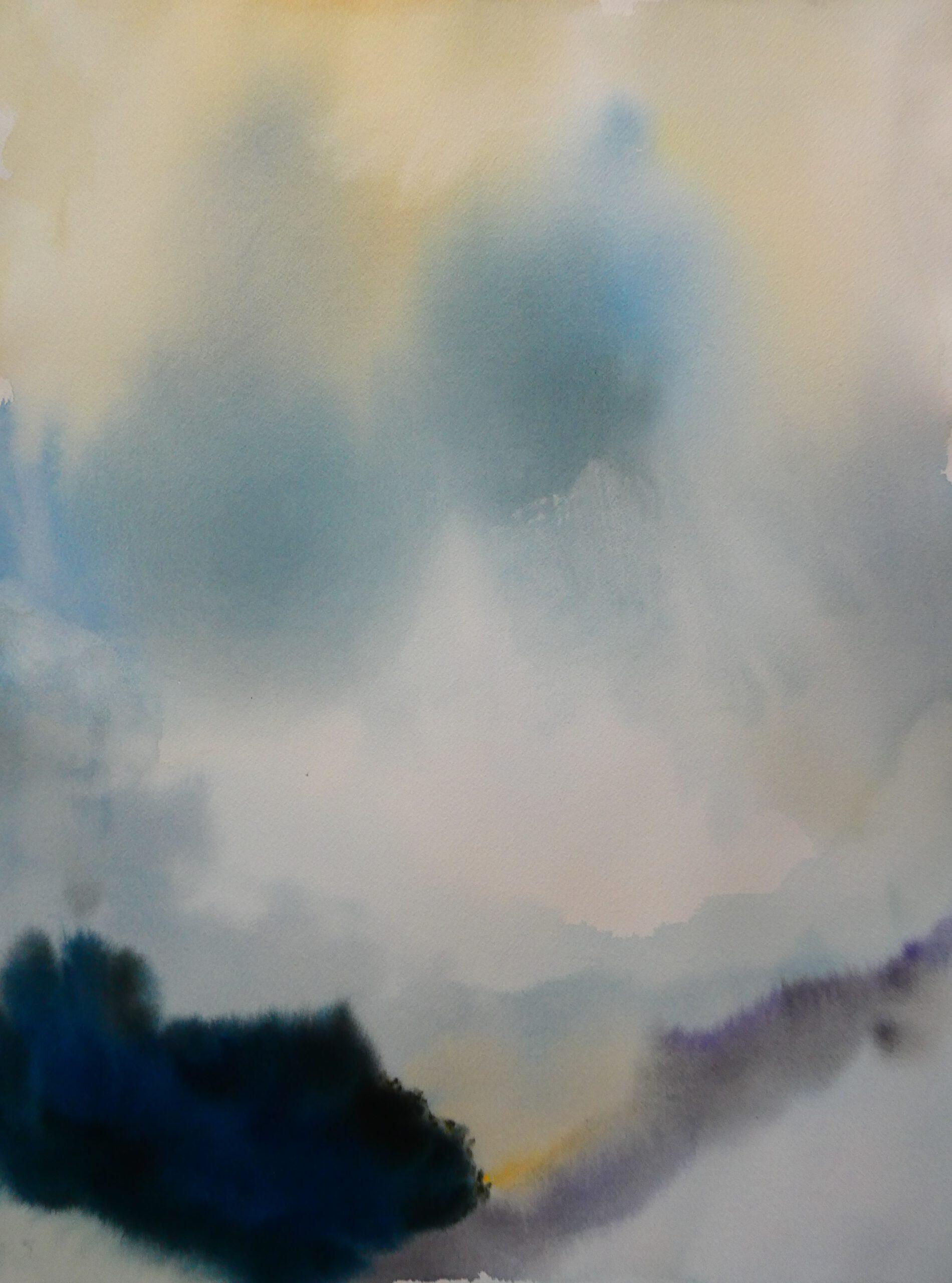Aquarell, 60 x 80 cm