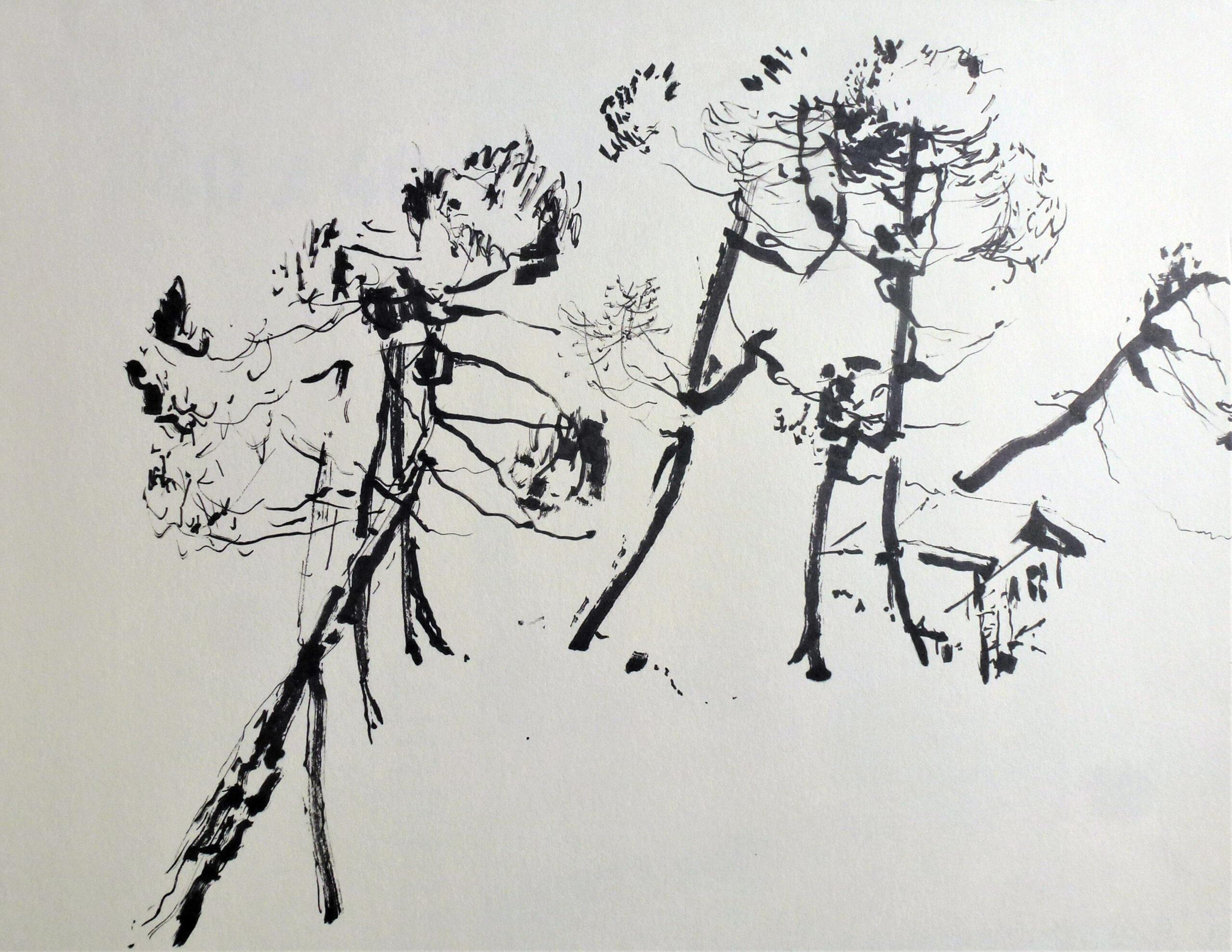 Filzstift, 30 x 30 cm (Ausschnitt)